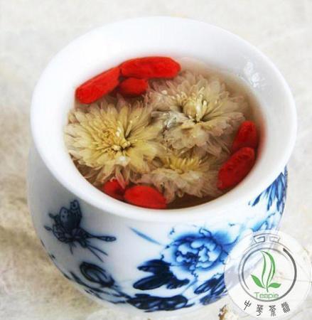 菊花枸杞茶能明目