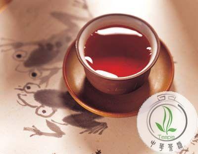 积食喝普洱茶